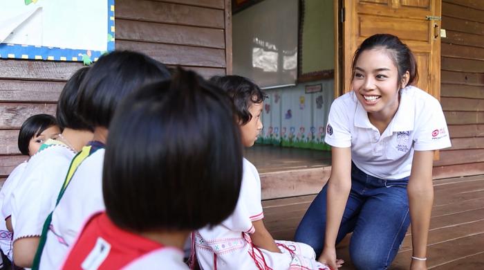 โครงการการกุศล Beauty with a purpose  เฟร้นฟราย-ธันยชนก มูลนิลตา มิสไทยแลนด์เวิลด์ 2015 สำหรับการประกวดมิสเวิลด์ 2015