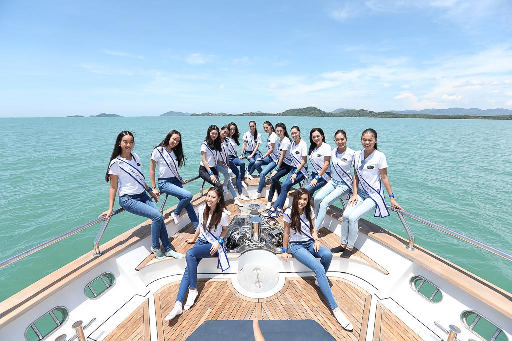 ประมวลภาพกิจกรรมการเก็บตัววันที่สอง Miss Thailand World 2016 ที่จังหวัดภูเก็ต