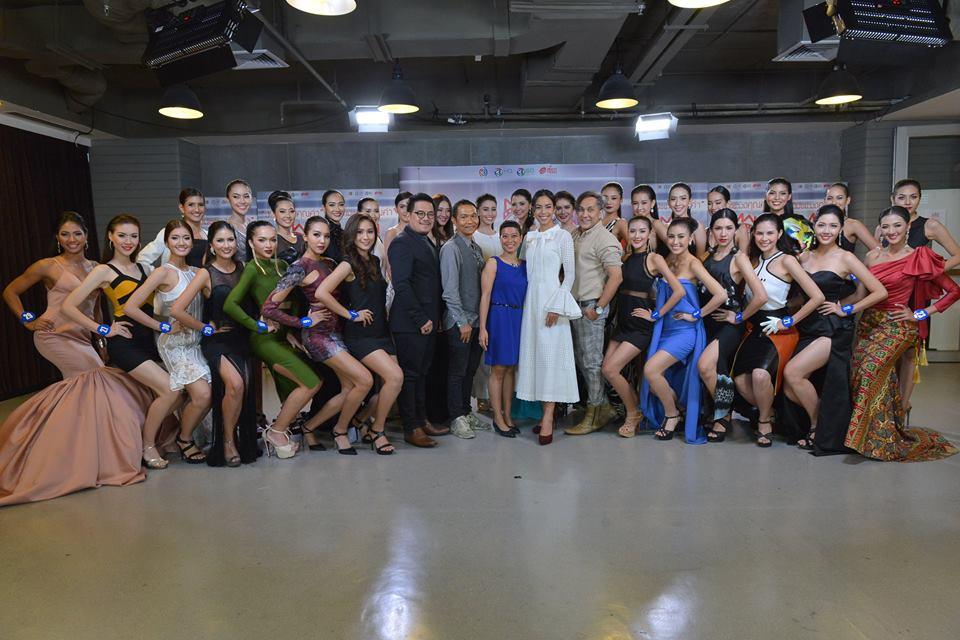 """30 สาวงามผู้เข้าประกวด """"มิสไทยแลนด์เวิลด์ 2016"""" เข้าแข่งขันรอบฟาสแทร็กส์ (Fast Track)"""