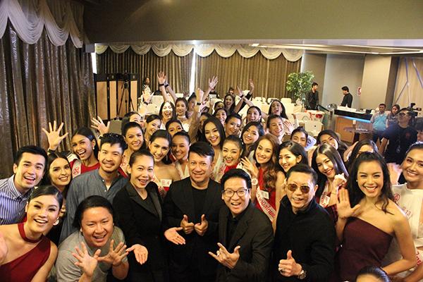 """30 ผู้เข้าประกวด """"มิสไทยแลนด์เวิลด์ 2018"""" ทำกิจกรรมแรก ปฐมนิเทศ เข้าคลาสอบรมโซเซียล"""