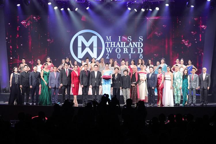 """มิสไทยแลนด์เวิลด์ 2018"""" รอบพลีลิมมินารี่ ประกวดชุดไทยยอดเยี่ยม ชุดราตรียอดเยี่ยม  เปิดตัว """"มงกุฎทับทิมประทับเพชร"""""""