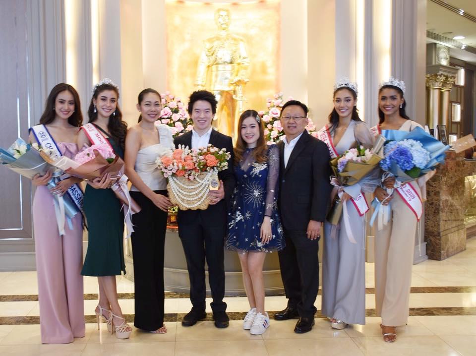 คณะมิสไทยแลนด์เวิลด์ 2018 เข้าขอบคุณผู้บริหารโรงแรมเดอะเบอร์เคลีย์ ประตูน้ำ