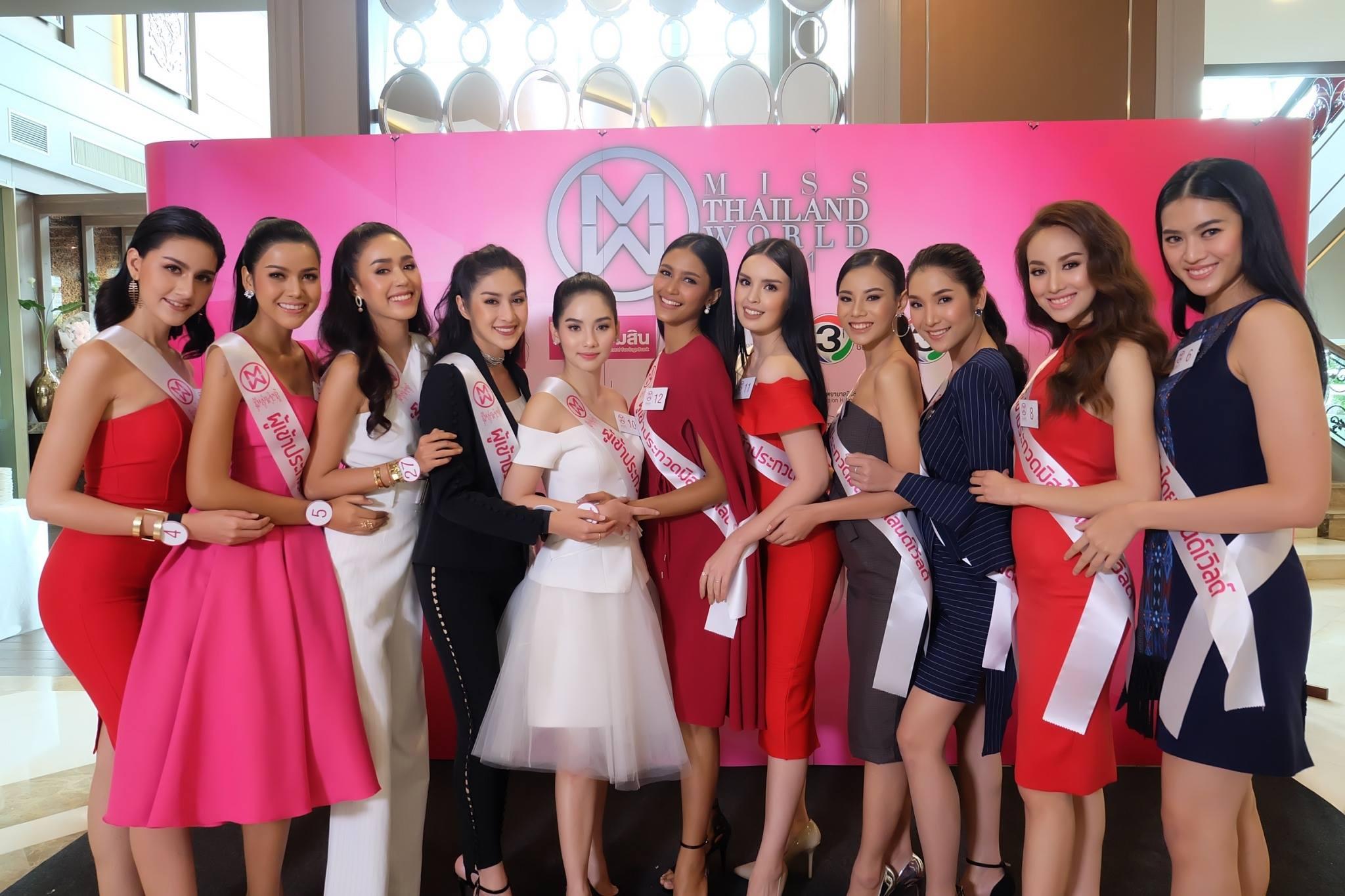 การปฐมนิเทศ ของ 30 สาวงาม ผู้เข้าประกวดมิสไทยแลนด์เวิลด์ 2018
