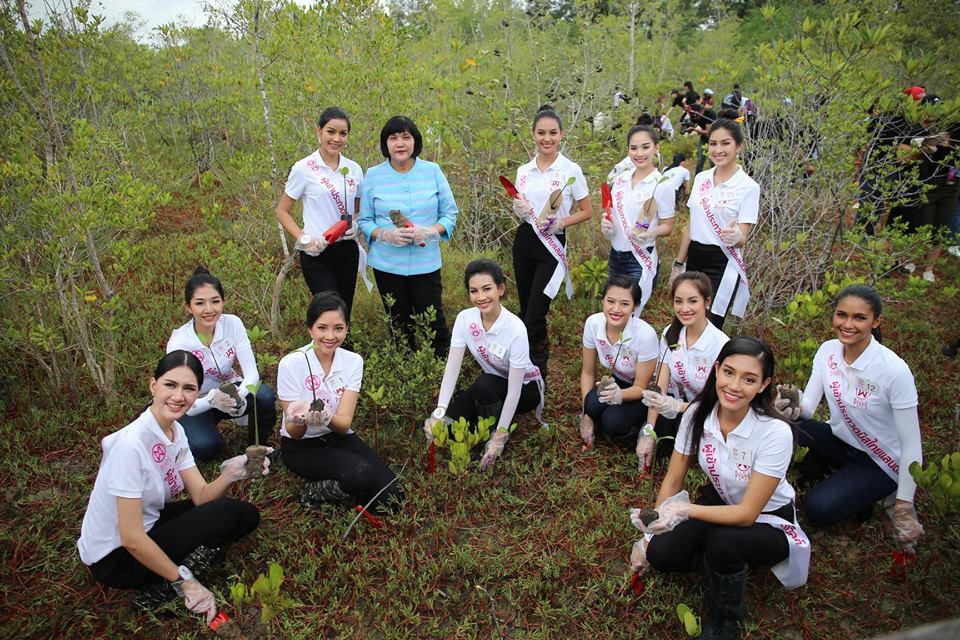 30 ผู้เข้าประกวดมิสไทยแลนด์เวิลด์ 2018 เก็บตัววันแรก