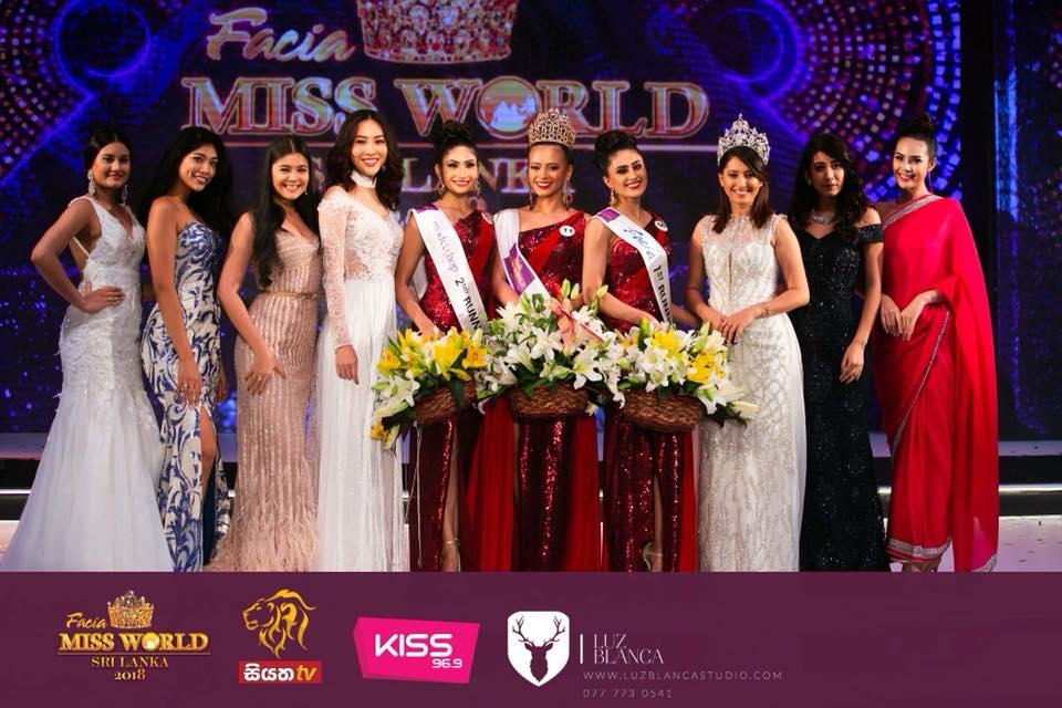 ไดร์-จิณณ์ณิตา บุดดี มิสไทยแลนด์เวิลด์ 2016 ร่วมงานประกวด Miss World & Miss Universe ประเทศศรีลังกา