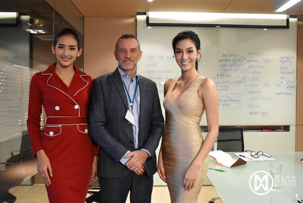นิโคลีน พิชาภา ลิมศนุกาญจน์ มิสไทยแลนด์เวิลด์ 2018 พร้อมมิสเมียนมาร์เวิลด์ 2018  เตรียมความพร้อมสำหรับการประกวด มิสเวิลด์ 2018