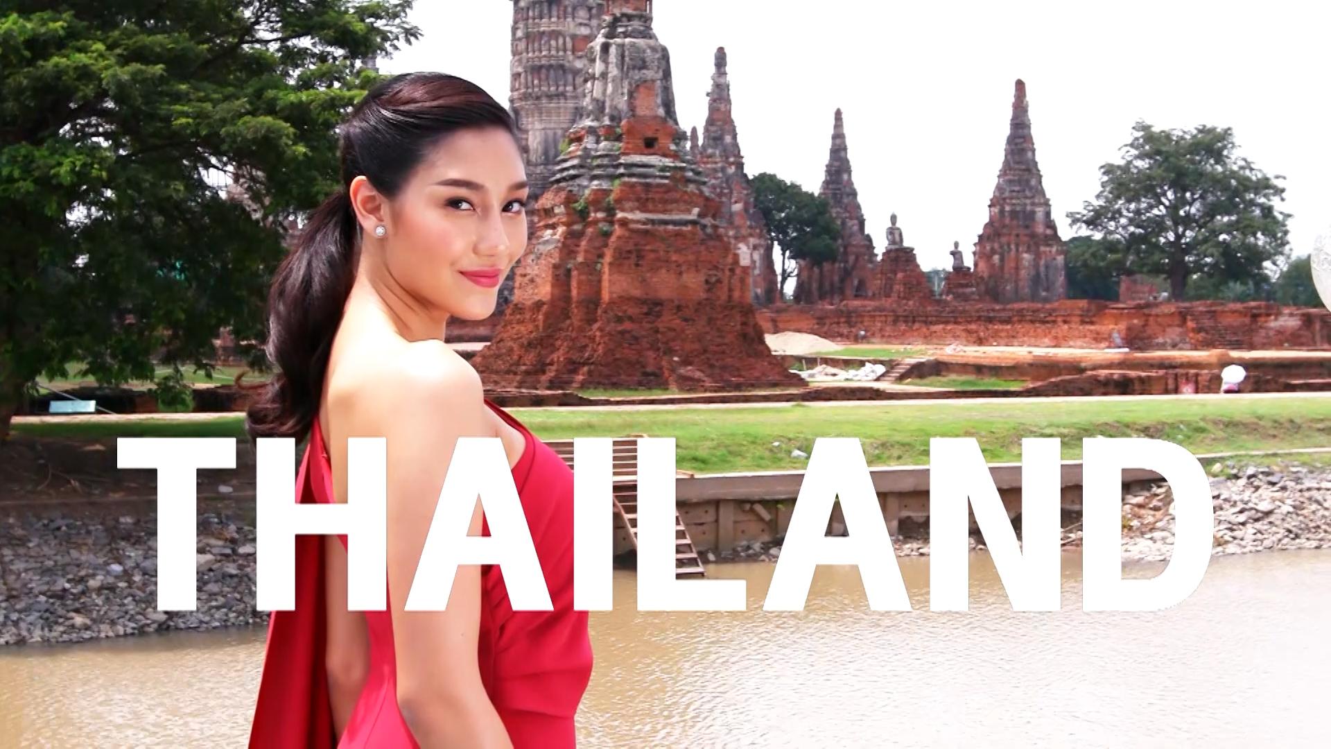 Thailand-Contestant Introduction : Miss World 2018 (Nicolene Pichapa Limsnukan)