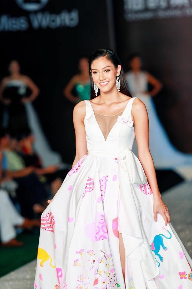 แข่งขัน Miss World Top Model & Designer Award   Miss World 2018 เมืองซานย่า สาธารณรัฐประชาชนจีน