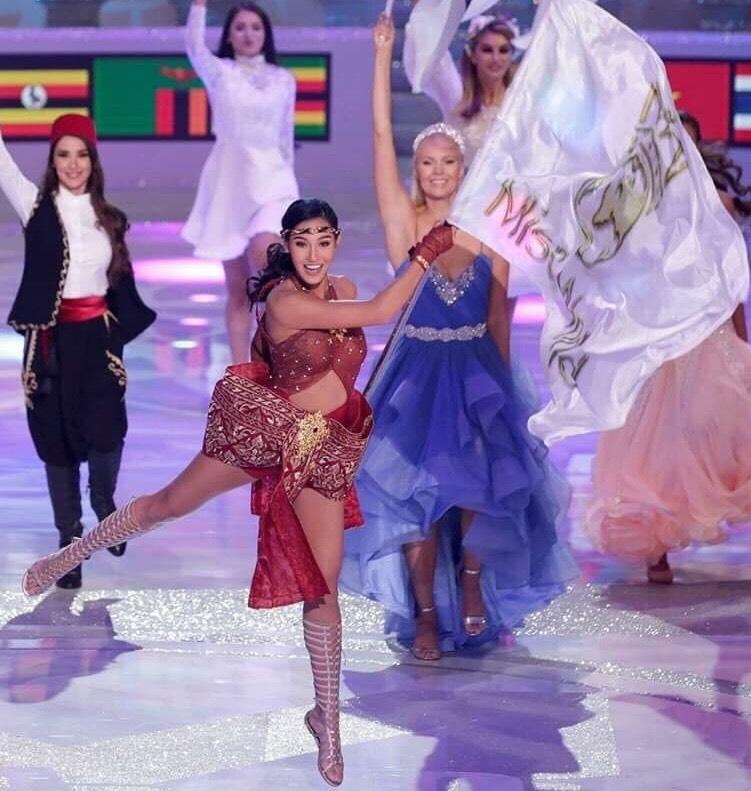 Dance of the World l Nicolene & Miss World Flag