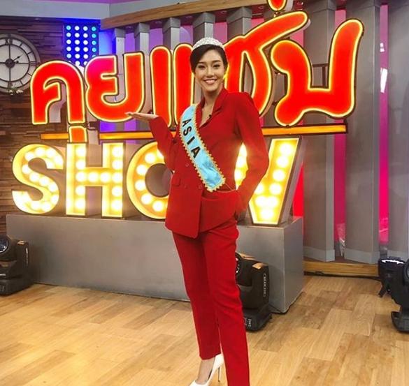 นิโคลีนเปิดใจผ่านรายการ คุยแซ่บShow  จากผู้แพ้เป็นผู้ชนะ คว้ารอง1 Miss World 2018