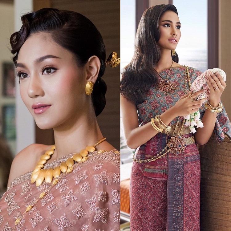 นิโคลีน-แพรว โชว์ความงดงามสวยสง่าแบบสาวไทย ถ่ายแบบนิตยสารและปฏิทิน
