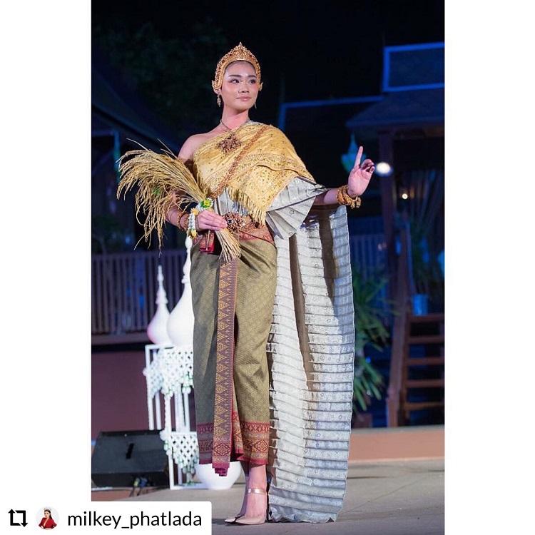 มิลค์-ภัทลดา  รองอันดับ1 มิสไทยแลนด์เวิลด์ 2016 ร่วมเดิน Fashion Show เทศกาลเที่ยวเมืองไทย ครั้งที่ 39