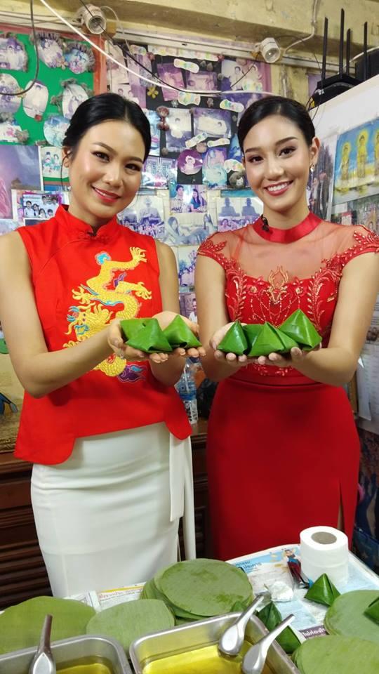 ซินเจียยู่อี่ ซินนี่ฮวดไช้   นิโคลีน - นิ้ง จับมือร่วมอวยพรเทศกาลครุษจีน