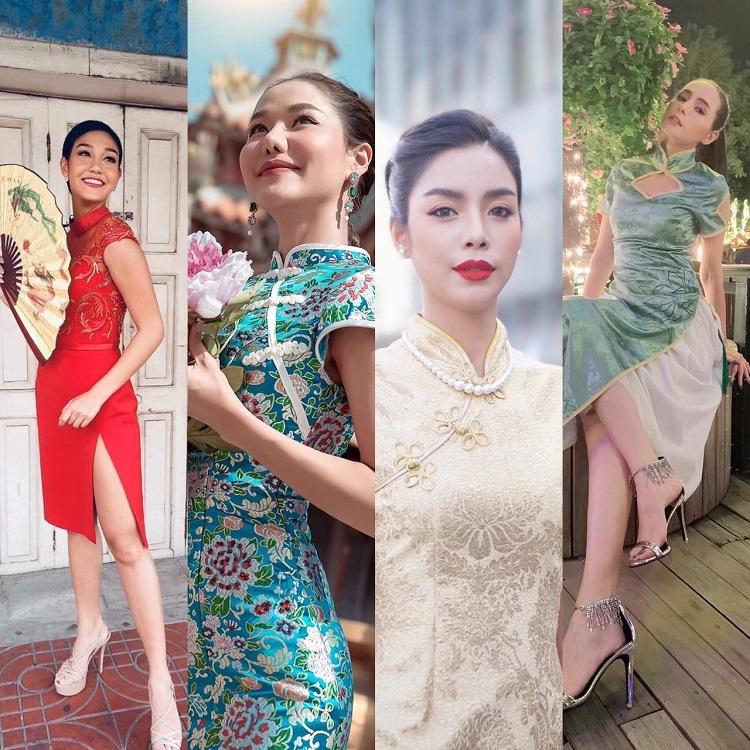 ส่อง IG สาวๆมิสไทยแลนด์เวิลด์ แต่งตัวแฟชั่นสไตล์อาหมวย รับเทศกาลตรุษจีน2019