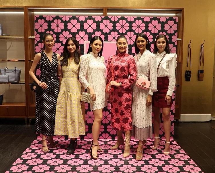 สาวๆ มิสไทยแลนด์เวิลด์2018 ร่วมงานเปิดตัวแบรนด์ดัง Kate Spade New York กับ คอลเลคชั่นสปริง 2019