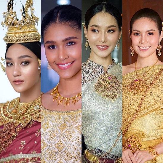 วันสงกรานต์ย้อนยุค ควันหลงชุดไทยสไตล์สาวๆ มิสไทยแลนด์เวิลด์
