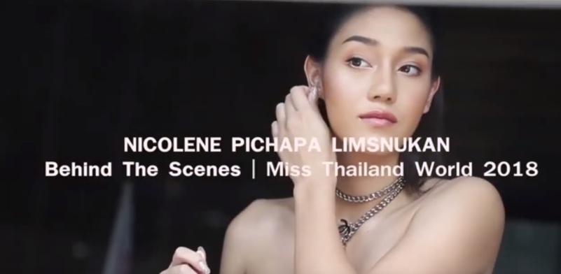 Beautelush Mooi Thailand : ตามติด เบื้องหลังการถ่ายแบบ ของMiss Thailand World 2018 นิโคลีน พิชาภา ลิมศนุกาญจน์