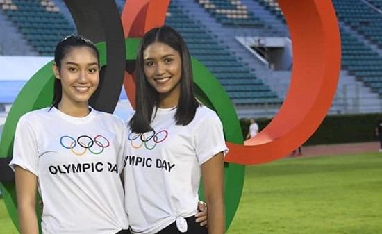 """นิโคลีน แพรว สาวงามมิสไทยแลนด์เวิลด์ 2018 ร่วมงานกิจกรรม """"เดิน – วิ่ง 2019 โอลิมปิค เดย์"""""""