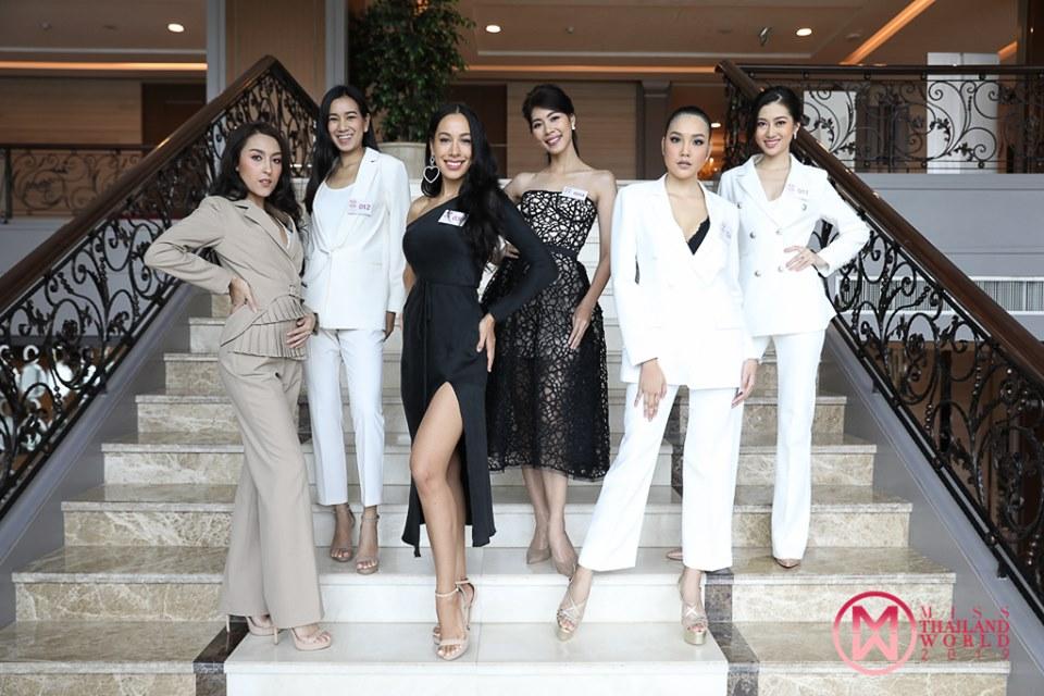 กองประกวดมิสไทยแลนด์เวิลด์ 2019 สัมภาษณ์ผู้เข้ารอบ 40 คน รอบแสดงทัศนคติแบบเข้มข้น