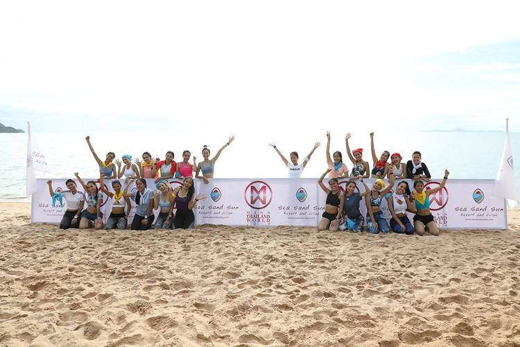 24 ผู้เข้าประกวดมิสไทยแลนด์เวิลด์ 2019 สวยสตรอง แข่งทักษะกีฬา วิ่งผลัด แพลงกิ้ง คอร์สฟิต