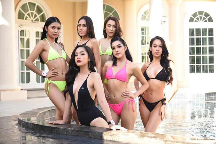 24 ผู้เข้าประกวดมิสไทยแลนด์เวิลด์ 2019  สวยสดใส!!! อวดโฉมชุดว่ายน้ำ