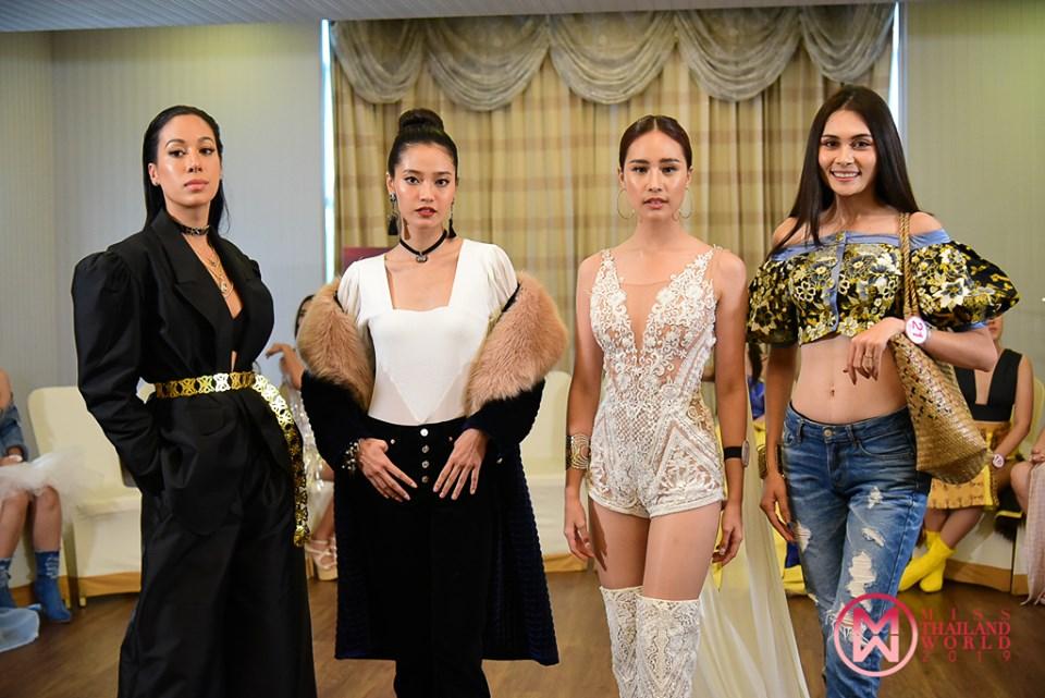 24 ผู้เข้าประกวดมิสไทยแลนด์เวิลด์ 2019  แข่งขันรางวัลพิเศษ Miss Fashionista ชิงรางวัล 1 แสนบาท