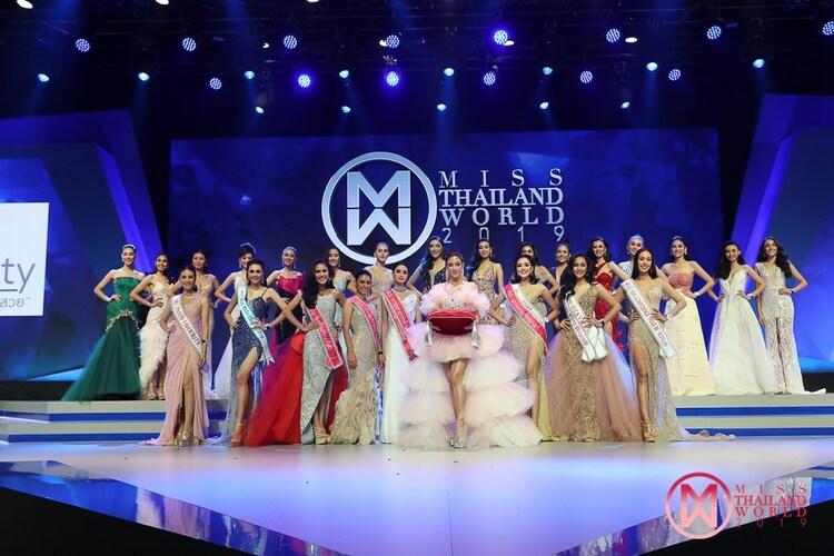 """24 ผู้เข้าประกวด """"มิสไทยแลนด์เวิลด์ 2019"""" สู้สุดพลัง รอบพรีลิมมินารี่ ประกาศ 5 คนเข้า 12 คนสุดท้าย"""