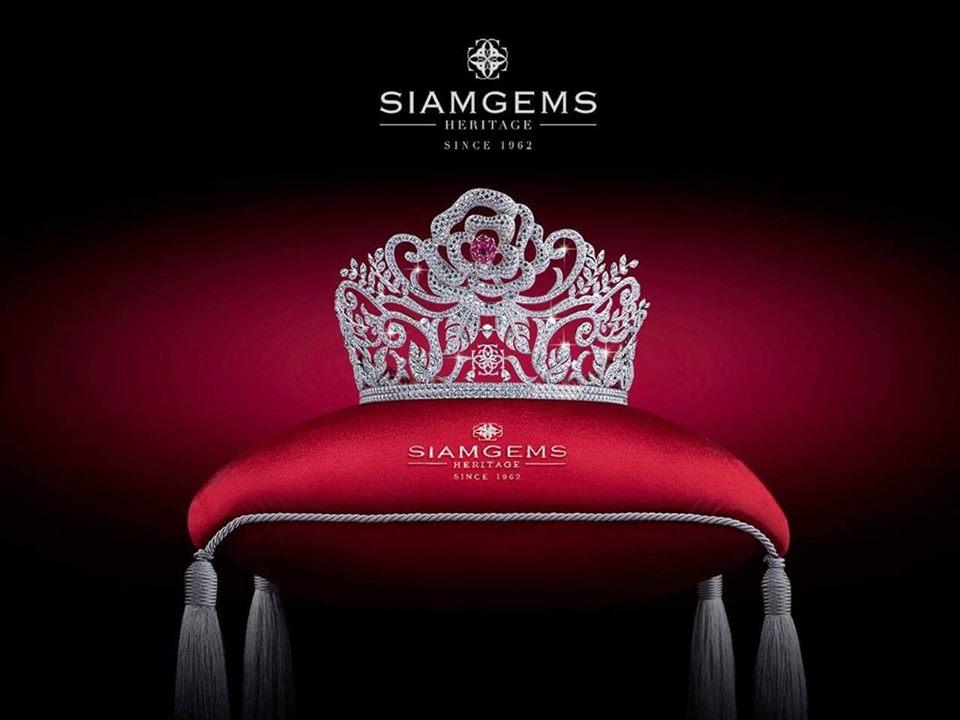 Miss Thailand World 2019 Tiara  concept Design By SiamGems Heritage
