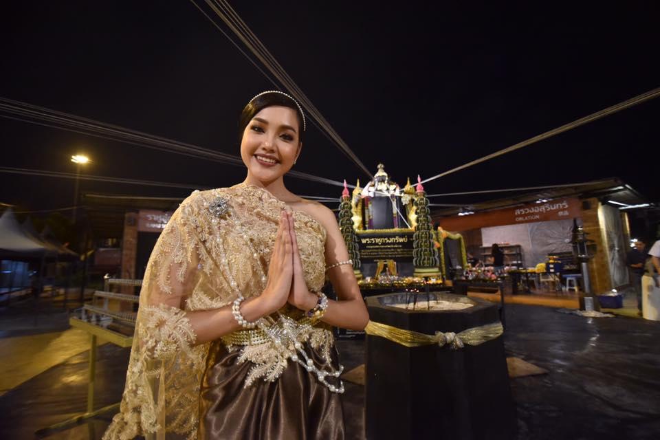[Live] สด เกรซ-นรินทร ชฎาภัทรวรโชติ มิสไทยแลนด์เวิลด์ 2019 รำถวายองค์พ่อราหูทรงทรัพย์