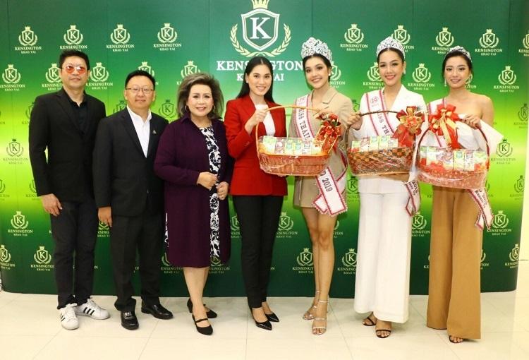 คณะมิสไทยแลนด์เวิลด์ 2019 เดินทางไปขอบคุณเคนซิงตันเขาใหญ่