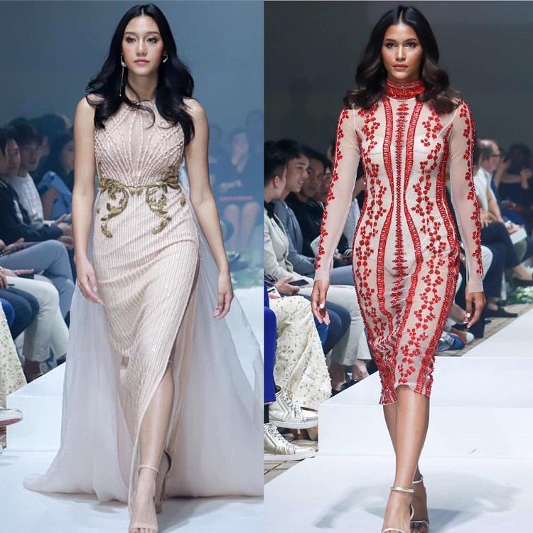 สวยฟาดรันเวย์! นิโคลีน-แพรว เดินแฟชั่นโชว์งาน SO Fashion Day 2019