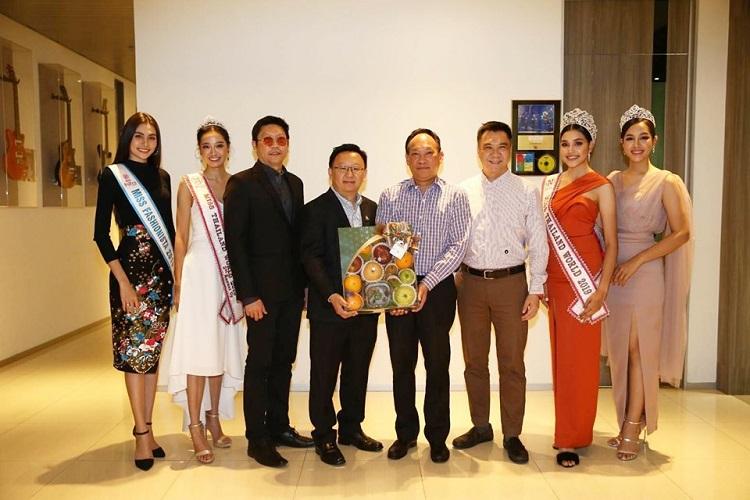 คณะมิสไทยแลนด์เวิลด์ 2019 เข้าขอบคุณบริษัท บุญรอดบริวเวอรี่ จำกัด