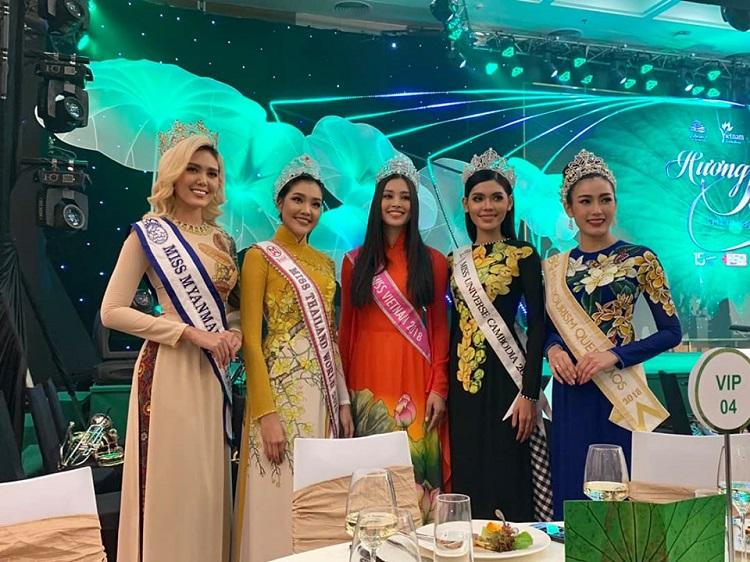 ส่องลุคสวย!! เกรซ นรินทร มิสไทยแลนด์เวิลด์ 2019  บินร่วมงาน The International Travel Expo 2019 ณ เวียดนาม