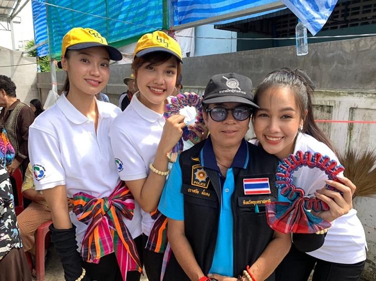 คณะผู้บริหารช่อง 3 และ สาวงามมิสไทยแลนด์เวิลด์ 2019  ทำภารกิจลงพื้นที่ช่วยเหลือผู้ประสบอุทกภัย จ.อุบลราชธานี
