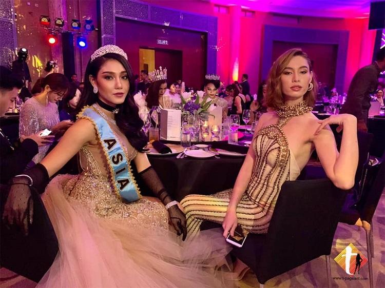 นิโคลีนและเซเลบริตี้เมืองไทย สวยจัดเต็ม บินร่วมงาน  ร่วมงาน Grand Final Gala Dinner Miss Virtual Malaysia