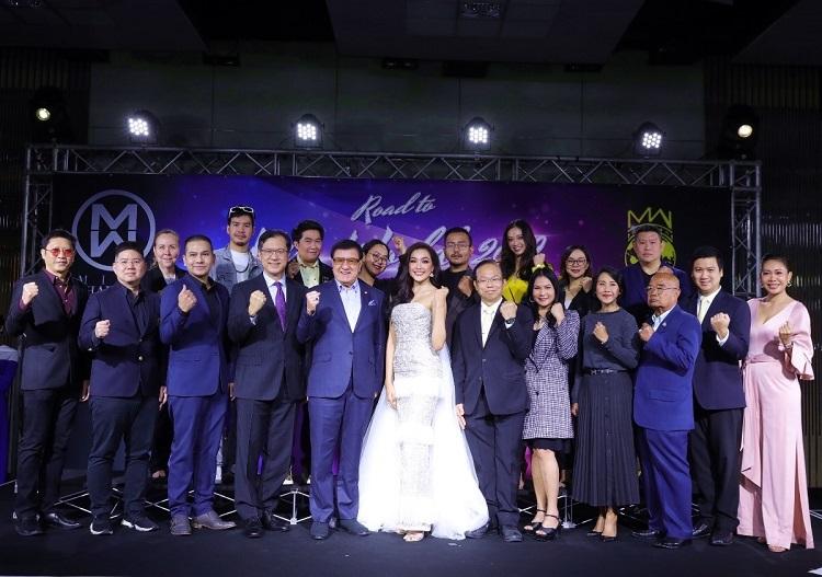 """แถลงข่าวมิสไทยแลนด์เวิลด์ 2019 สู่ """"มิสเวิลด์ 2019"""""""