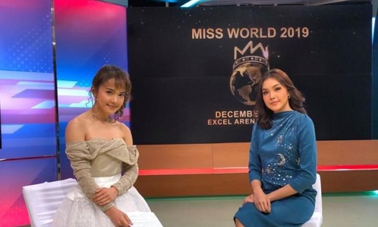 เกรซ Miss Thailand World 2019 ให้สัมภาษณ์ในรายการรีวิวบันเทิง ทูไนท์