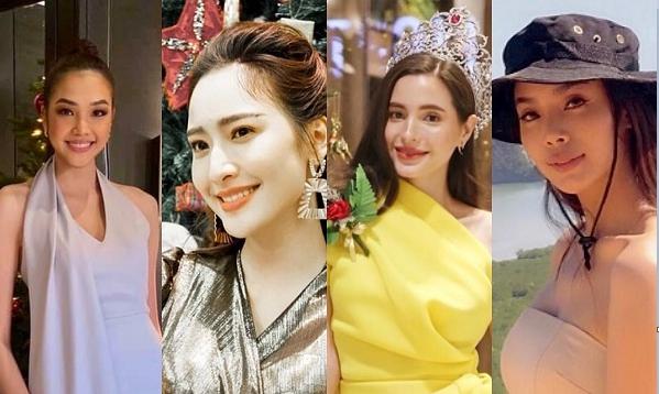 """ส่องสาวๆ Miss Thailand World ฉลอง  """"Christmas 2019"""
