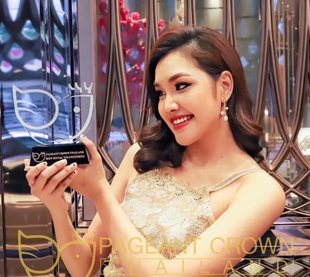 เกรซ Miss Thailand World 2019 เข้ารับรางวัล Best Social Volunteering จากบ้านเมตตา