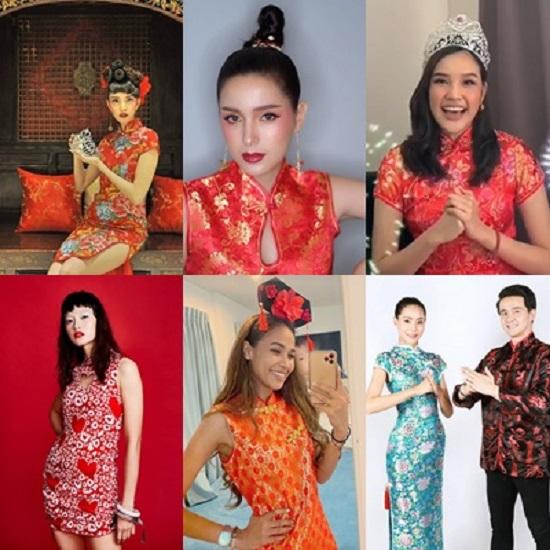 ส่องรูปสวยๆจากเหล่าอาหมวยเวที Miss Thailand World รับตรุษจีนประจำปี 2020