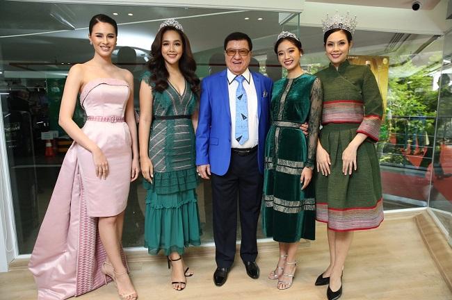 3 สาว Miss Thailand World ร่วมแสดงความยินดีงานเปิดตัวบริษัท ฟอร์เดย์ ประเทศไทย