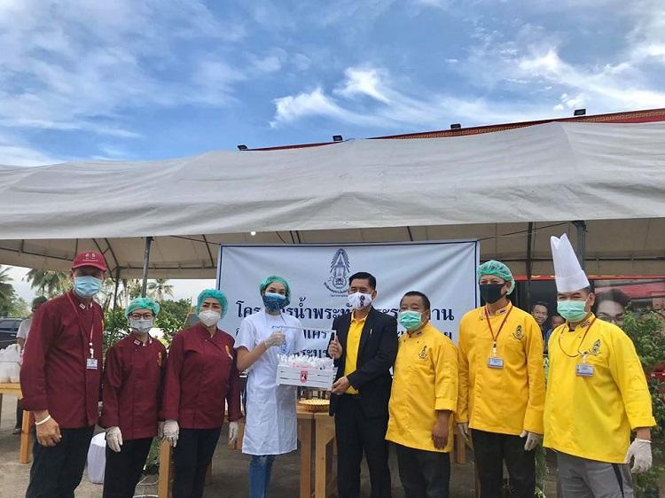 น้ำใจคนไทยไม่สิ้นสุด! เกรซ Miss Thailand World 2019 ร่วมกับครัวเชฟจิตอาสา ทำอาหารให้บุคลากรทางการแพทย์และประชาชนทั่วไป