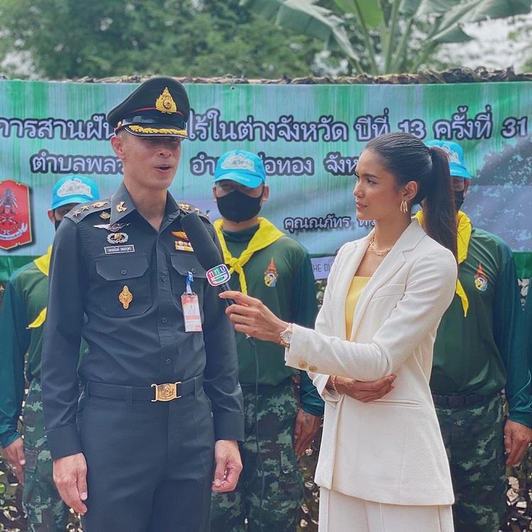 แพรววนิต รองอันดับ1 Miss Thailand World 2018 รับหน้าที่พิธีกร มอบบ้านในโครงการ สานฝันผู้ยากไร้ในต่างจังหวัด ที่ชลบุรี