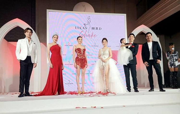 เกรซ-นรินทร ชฎาภัทรวรโชติ Miss Thailand World 2019 ร่วมงานเปิดตัวพรีเซ็นเตอร์คนใหม่ของ Lucas Build