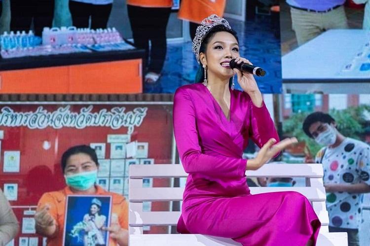 เกรซ Miss Thailand World 2019 ทำหน้าที่ ทูตกรมสุขภาพจิต กระทรวงสาธารณะสุข  ร่วมงาน วันสุขภาพจิตโลก